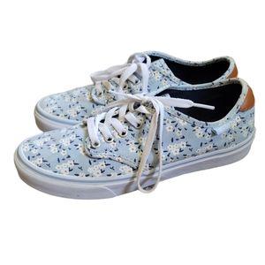 Vans Camden Deluxe Floral Sneakers Size 9